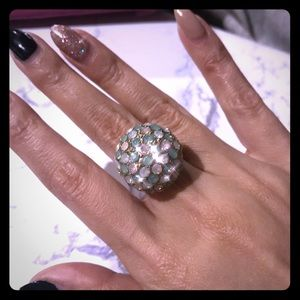 J. Crew Crystal Ring